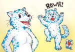 Wisconsin Snow Leopard