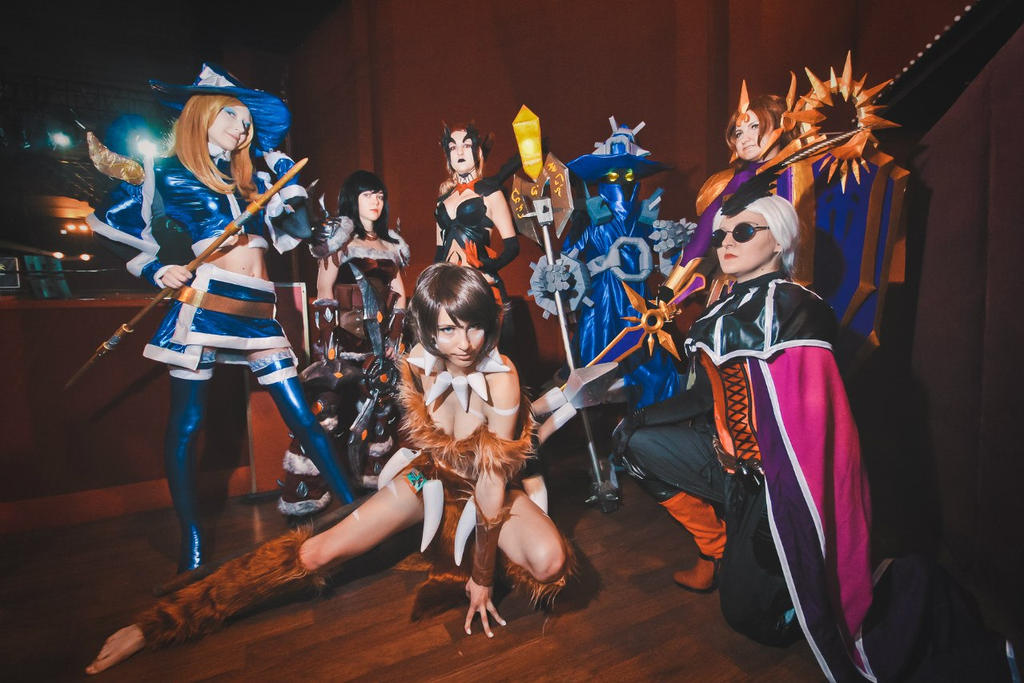 LCS Moscow - League Of Legends Cosplay by Nyandalee