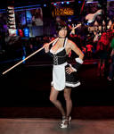 French Maid Nidalee Cosplay