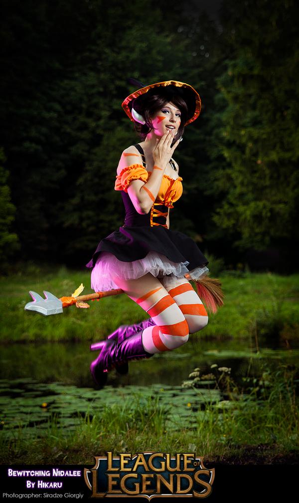Bewitching Nidalee cosplay by MicukoHikaru