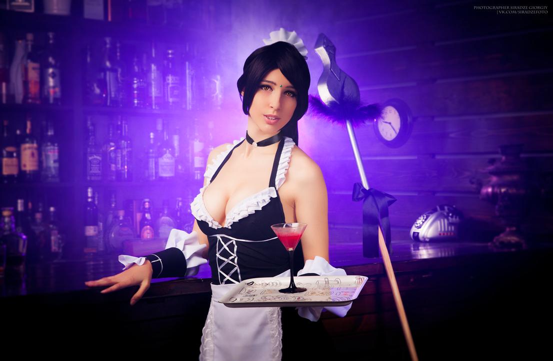 French Maid Nidalee by MicukoHikaru