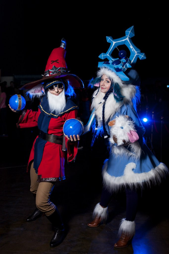 Master Arcanist Ziggs and Winter Wonder Lulu by Nyandalee