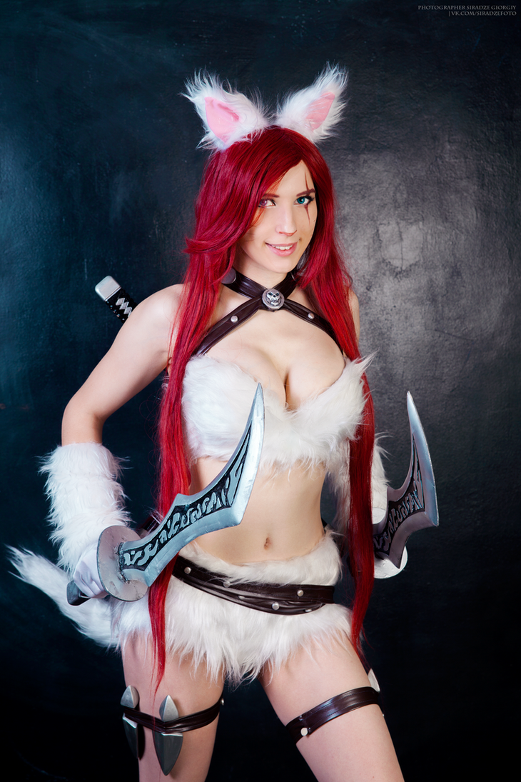 Kitty Cat Katarina cosplay by Nyandalee