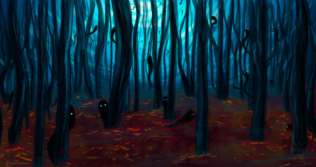 Dark Forest by LordDracoArgentos