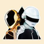 Daft Punk tribute by LordDracoArgentos