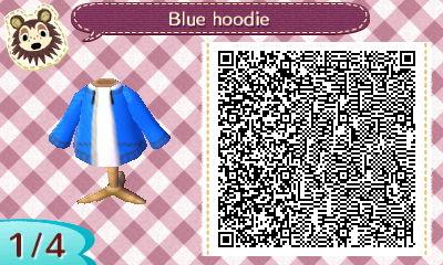 blue hoodie QR code 1 by Pepadoru