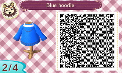 blue hoodie QR code 2 by Pepadoru