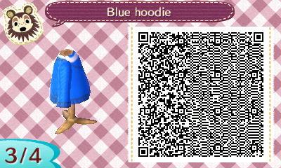 blue hoodie QR code 3 by Pepadoru