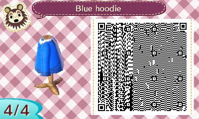 blue hoodie QR code 4 by Pepadoru