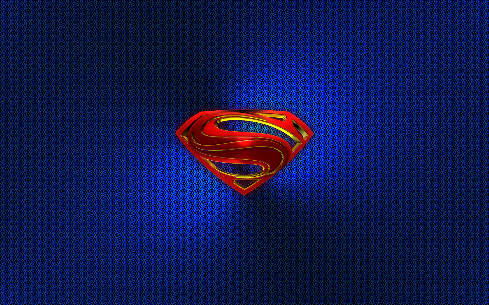 Superman The Man Of Steel 3D Emblem Wall 01A By KingTracy