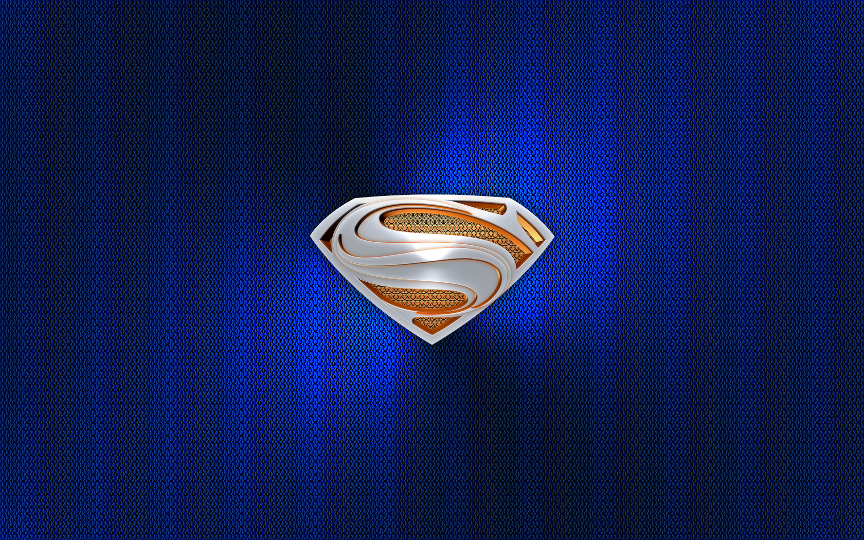 Superman Man Of Steel 3D Emblem Wall 02A By KingTracy