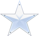 Captain America 3D Star Emblem 00