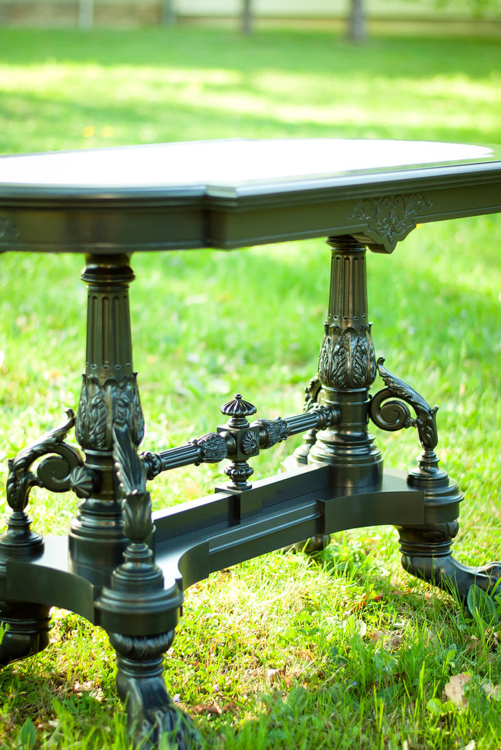 Historicism table - replica 3 by bengo-matus