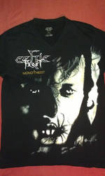 Celtic Frost Monotheist T-shirt by bengo-matus