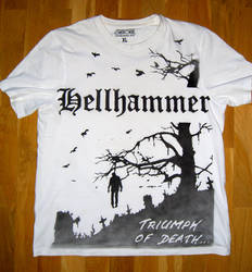Hellhammer t-shirt by bengo-matus