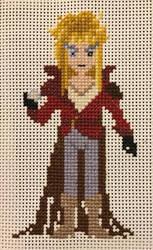 Goblin King Cross-Stitch