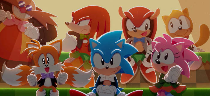 Sonic 30th Anniversary Symphony Official Art