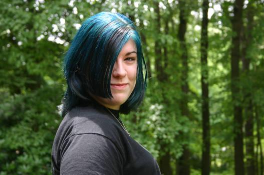 Sassy Cool Blue Hair 2