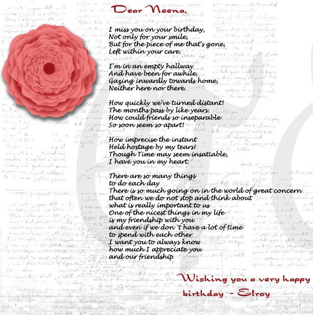 Neena's Card