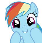 Rainbow Dash Vector #3
