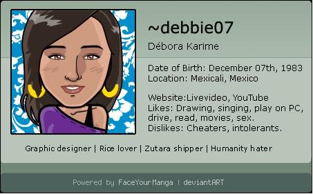 debbie07's Profile Picture