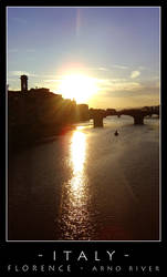Italy - Florence - Arno river
