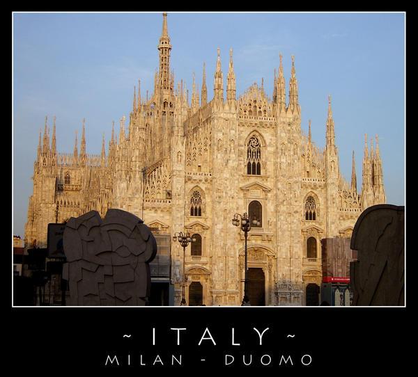 Milan - Duomo 1 by dark-spider