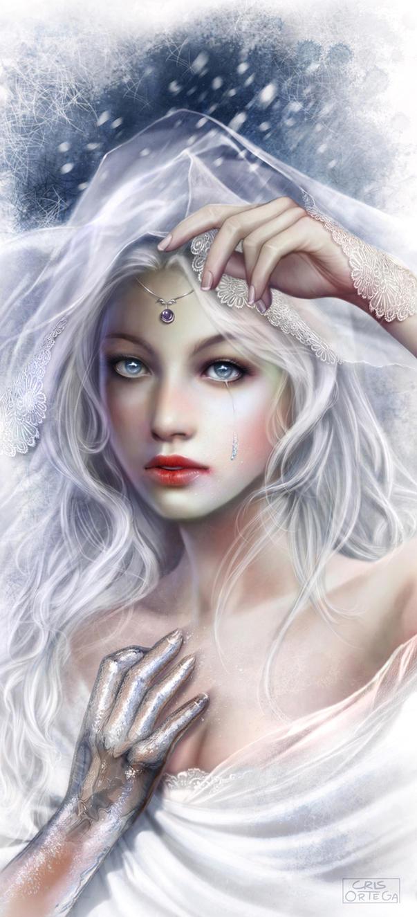 Ice Maiden by dark-spider