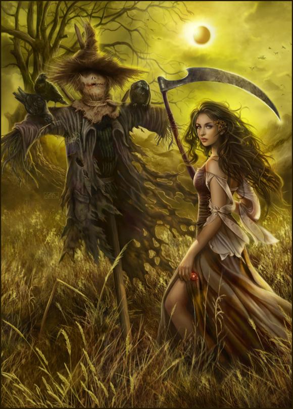 Field of the Scarecrow by dark-spider on DeviantArt