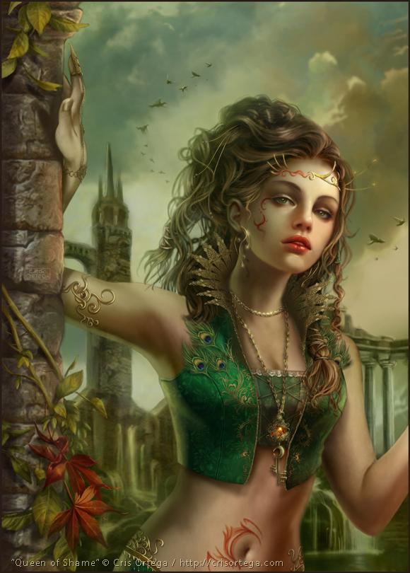 Queen of Shame by dark-spider