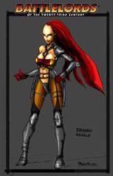 Sexy Eridani Swordsaint by Battlelords