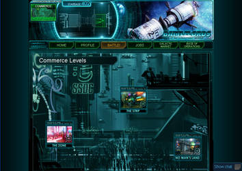 Showcase your art in our Sci-fi game II by Battlelords