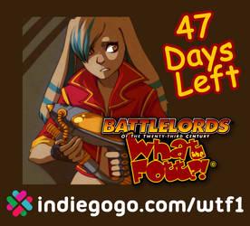 WTF?! Fundraiser - 48 Days Left