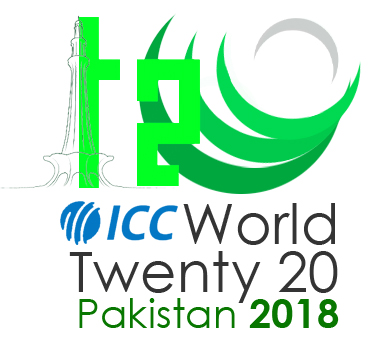 T20 World Cup 2018 Logo