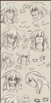 Sketchdump Bakura