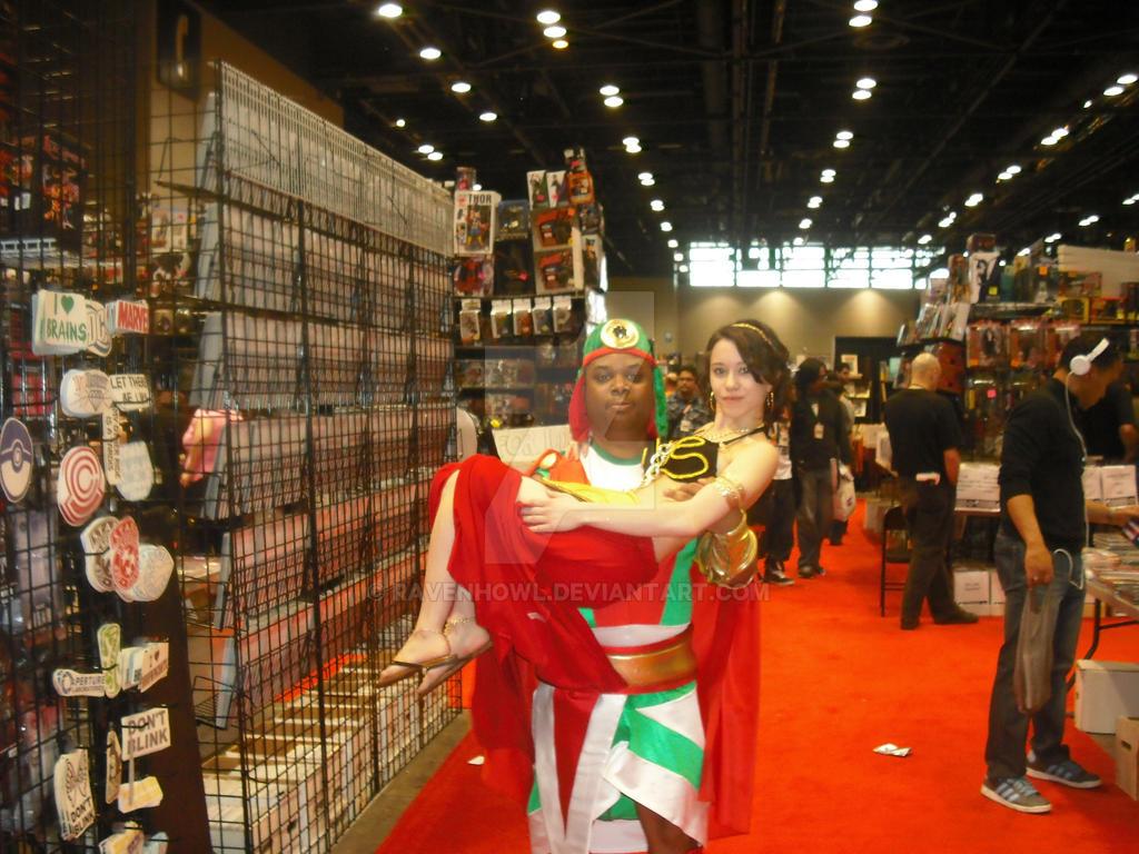Rescuing Slave Leia By Ravenhowl On DeviantArt