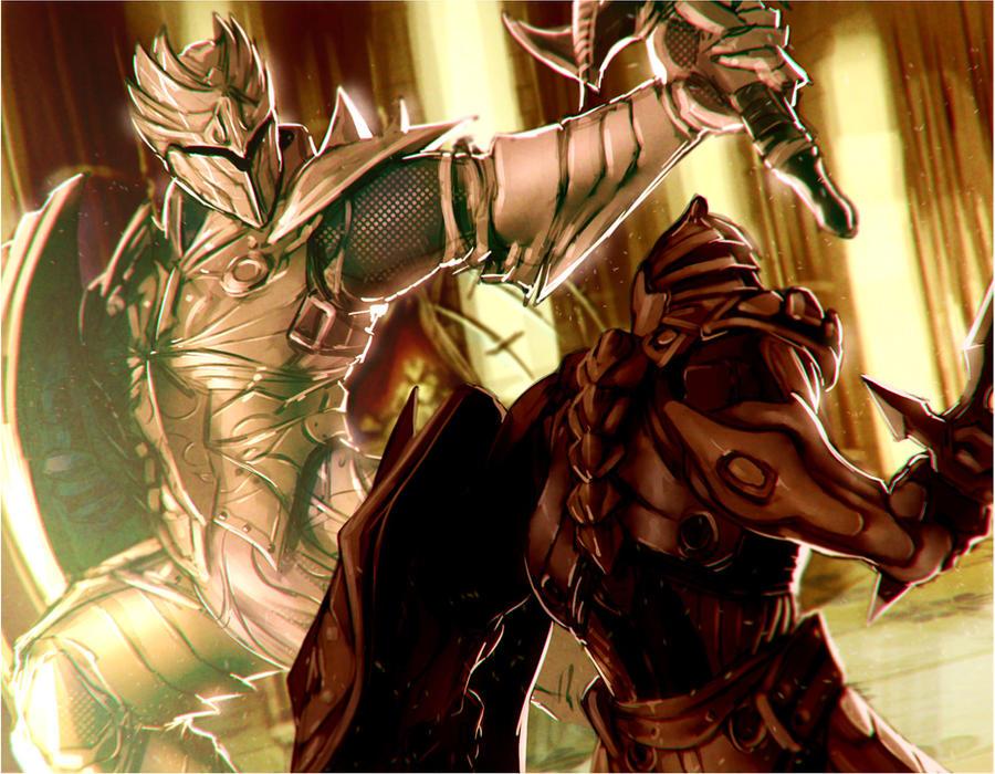 Infinity Blade Fan art by Orathio