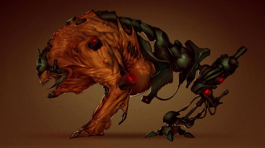 Monster Design by Orathio
