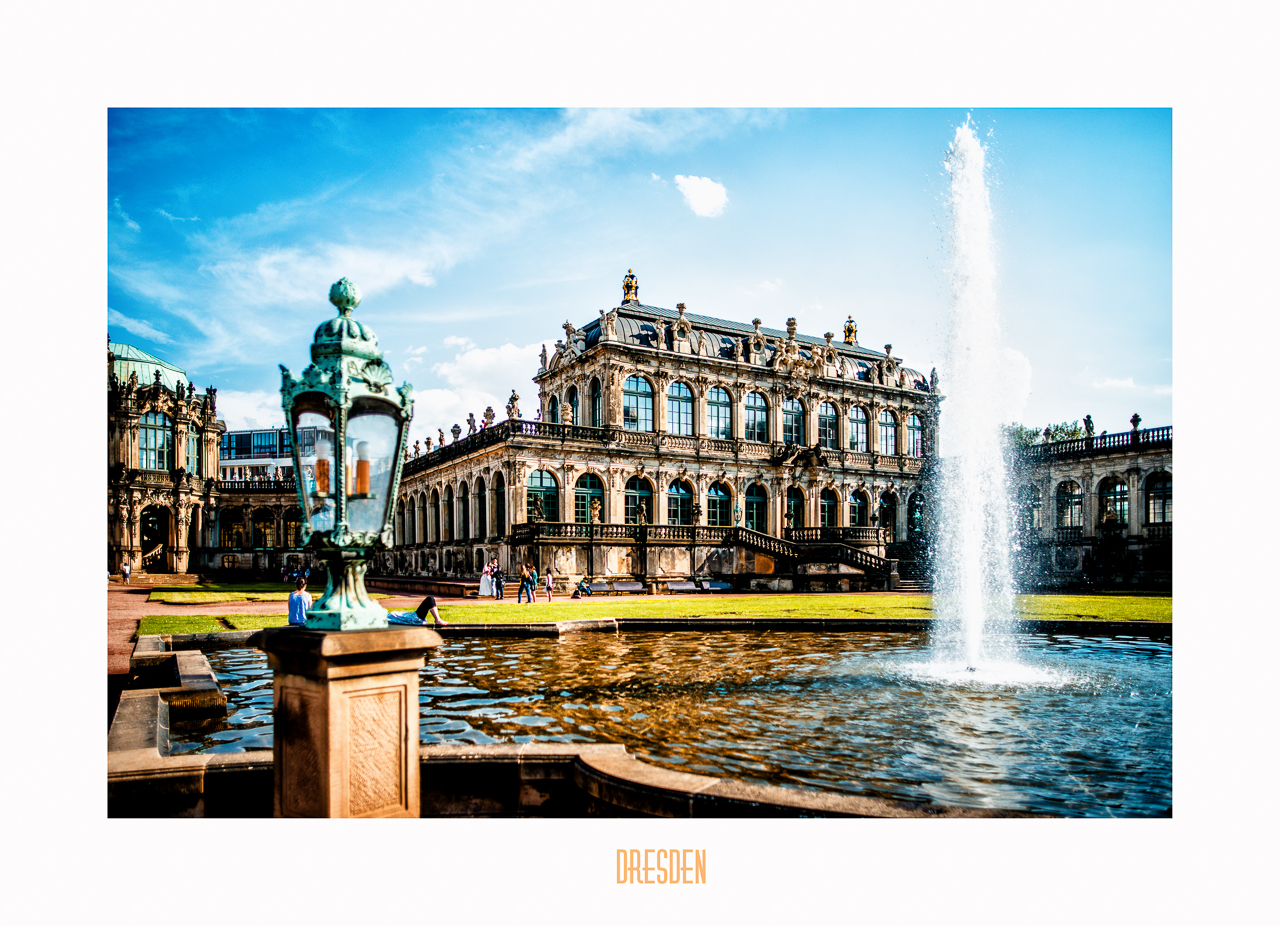 Dresden - Zwinger II by calimer00