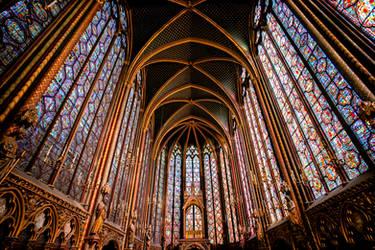 Sainte-Chapelle by calimer00