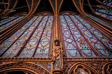 Sainte-Chapelle 2 by calimer00