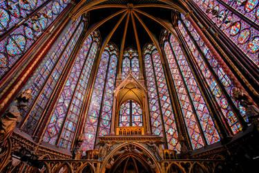 Sainte-Chapelle 3 by calimer00