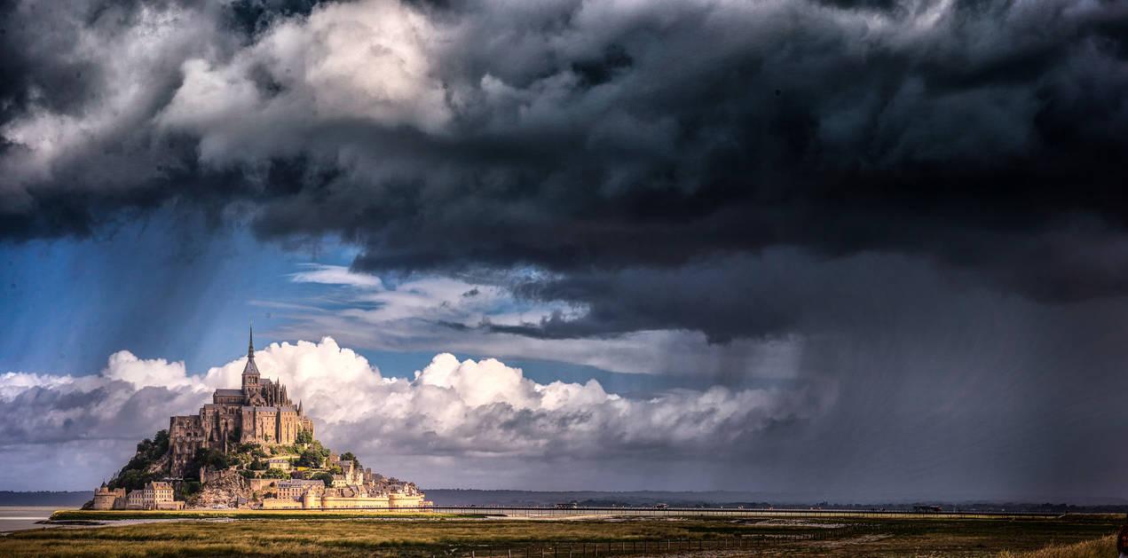 Le Mont-Saint-Michel 7 by calimer00