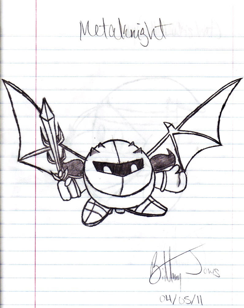 Super Smash Bros. Brawl: Meta Knight by BadassSheik92 on DeviantArt