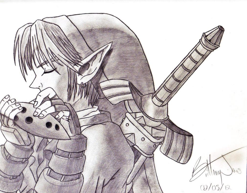 Link - Ocarina of Time by BadassSheik92
