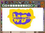 Warner Bros Logo in Fine Artist