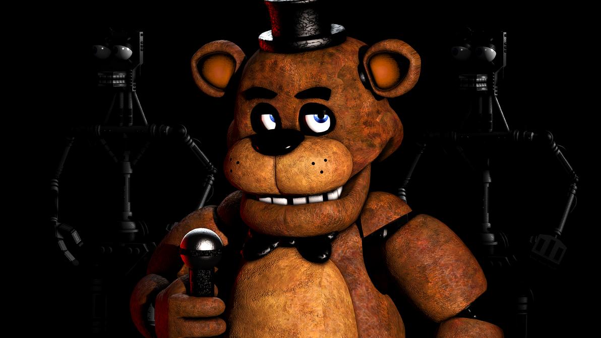 [SFM 4k] FNAF 1 Freddy Poster by EvilDoctorRealm