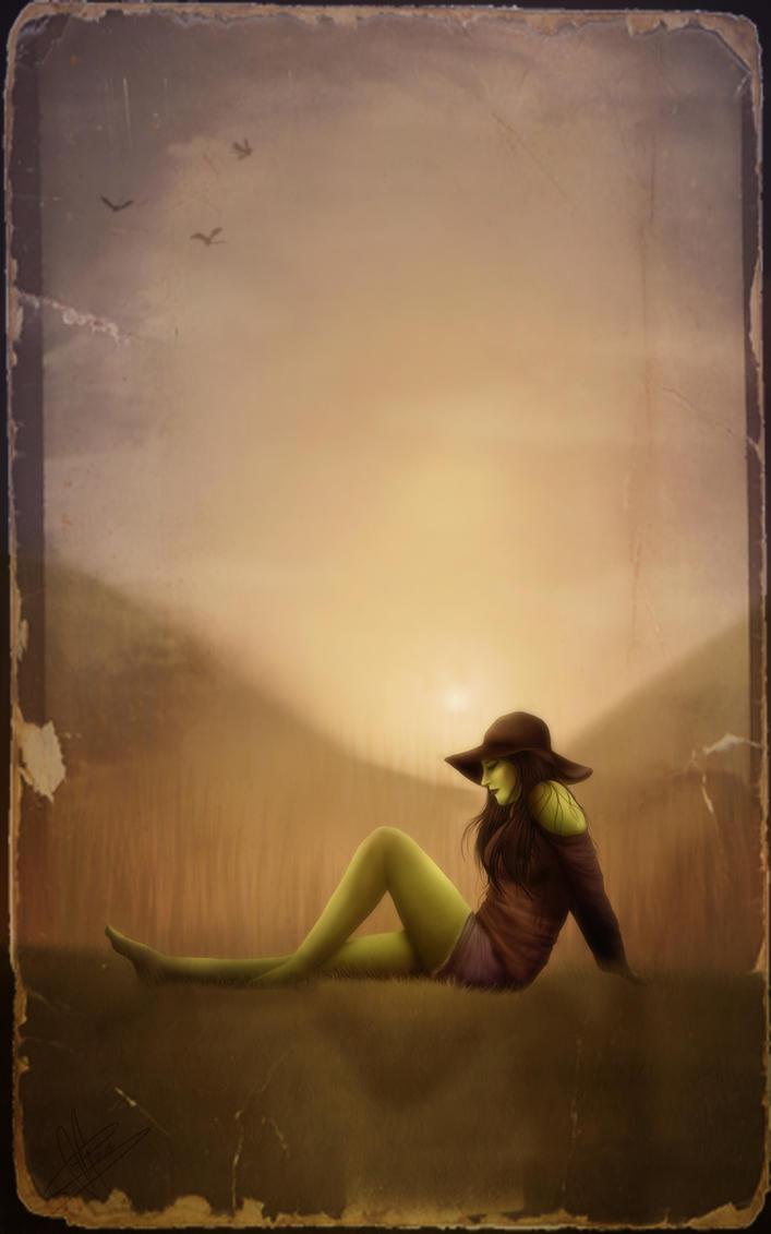Modern Day Wicked Witch - Elphaba by Songbirds-Rhapsody on ...
