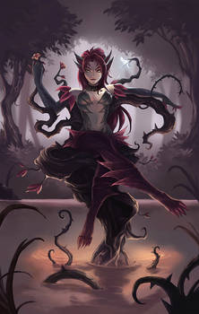 Fanart: Zyra - Throne of Thorns