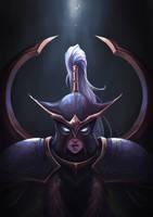 Warcraft - Maiev Shadowsong by MarianaEnnes